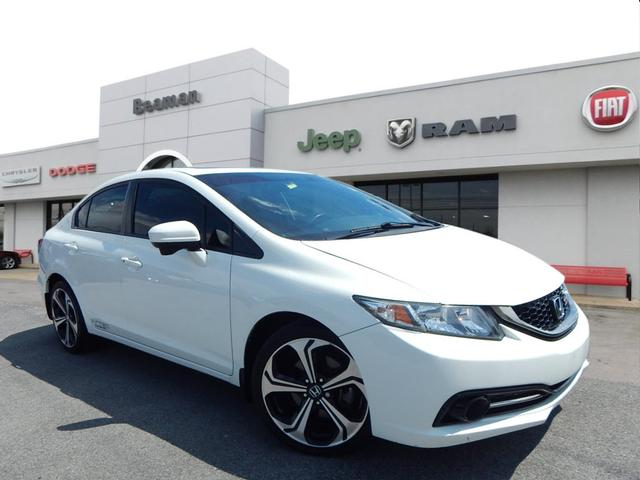 Honda Civic Si Used >> Pre Owned 2015 Honda Civic Si Si 4dr Sedan In Nashville 0006806a