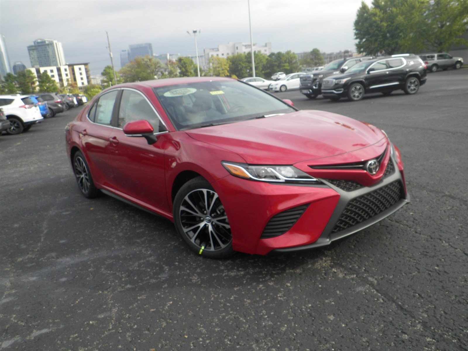 New 2019 Toyota Camry Se 4dr Car In Nashville Kt235 Beaman Toyota