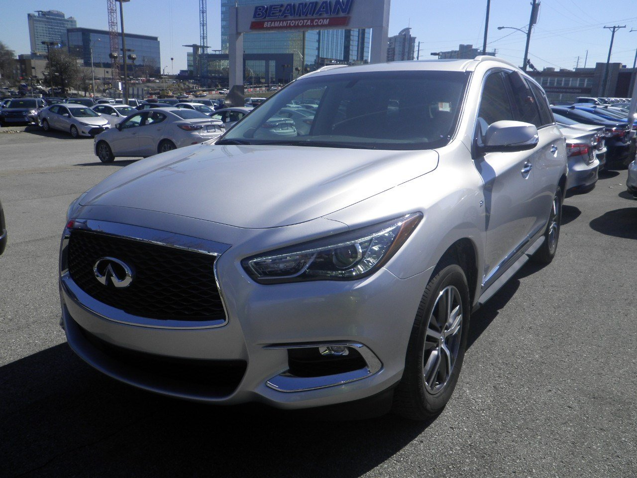 Pre Owned 2017 Infiniti Qx60 Fwd
