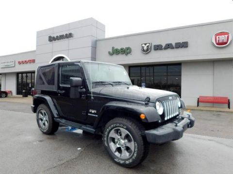 Pre-Owned 2017 Jeep Wrangler Unlimited Sahara 4WD 4x4 Sahara 2dr SUV