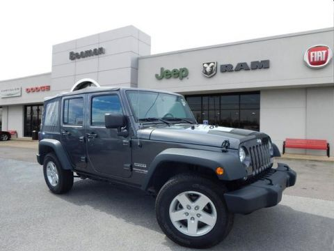 Pre-Owned 2018 Jeep Wrangler Unlimited SPORT