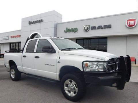 Pre-Owned 2006 Dodge Ram 2500 4WD 4WD 4x4 ST 4dr Quad Cab 8 ft. LB Pickup