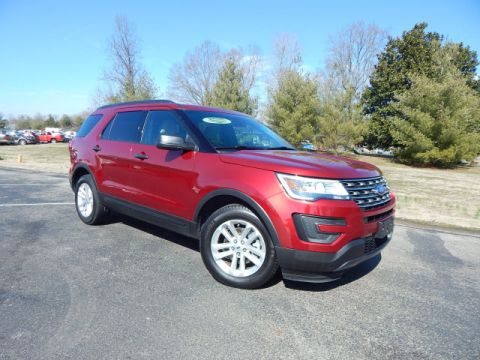 Pre-Owned 2017 Ford Explorer Base FWD Base 4dr SUV
