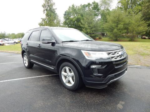 Pre-Owned 2018 Ford Explorer XLT FWD XLT 4dr SUV