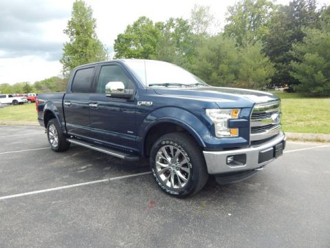Pre-Owned 2015 Ford F-150 LARIAT 4WD 4WD 4x4 Lariat 4dr SuperCrew 5.5 ft. SB