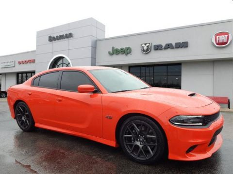 Pre-Owned 2018 Dodge Charger RT SCAT PK RWD R/T Scat Pack 4dr Sedan