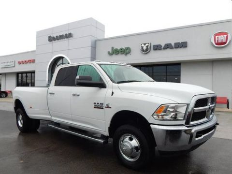 Pre-Owned 2018 RAM 3500 SLT 4X4 4WD 4x4 Big Horn 4dr Crew Cab 8 ft. LB DRW Pickup