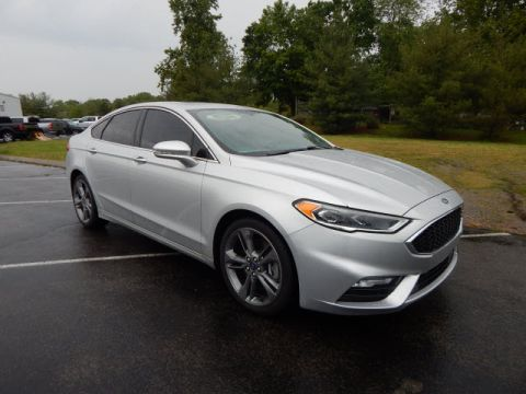 Pre-Owned 2017 Ford Fusion V6 Sport AWD AWD V6 Sport 4dr Sedan