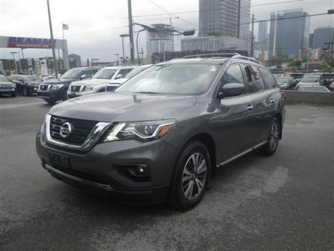 Pre-Owned 2017 Nissan Pathfinder SV FWD Sport Utility