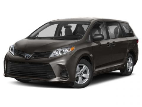 New 2020 Toyota Sienna AWD Mini-van