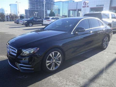 Pre-Owned 2017 Mercedes-Benz E-Class LUXURY RWD 4dr Car